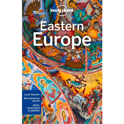 Kaft van lonely planet eastern europe