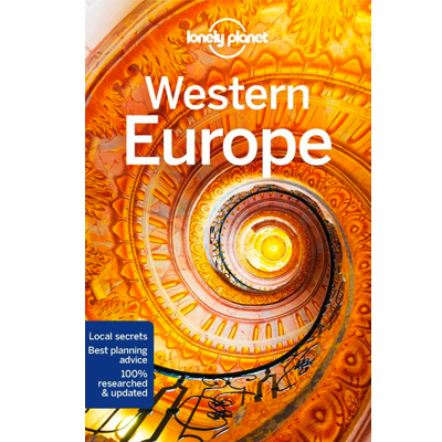 Kaft van lonely planet western europe